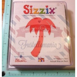 Fustella Sizzix Originals Palma Palm tree