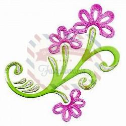 Fustella Sizzix Bigz Flourish Floral 2