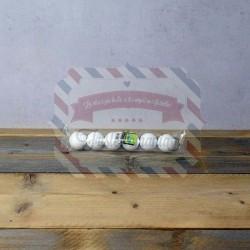 Palline di polistirolo 40 mm. 6 pezzi