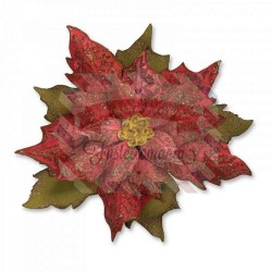 Fustella Sizzix Bigz Layered Tattered Poinsettia