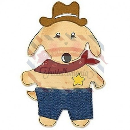 Fustella Sizzix Bigz Animal dress ups puppy