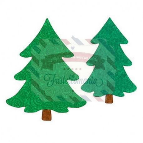 Fustella Sizzix Bigz L Alberi di Natale