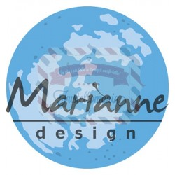 Fustella metallica Marianne Design Creatables Moon