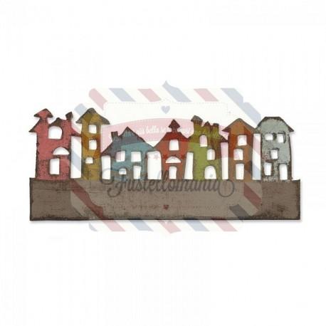 Fustella Sizzix Townscape città