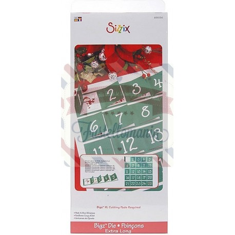 Fustella Sizzix BIGz XL Calendario dell'Avvento