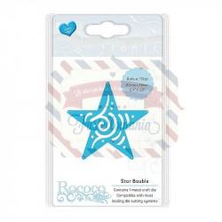 Fustella metallica Tonic Studios Rococo Petite Star bauble