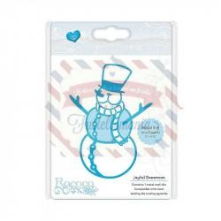 Fustella metallica Tonic Studios Rococo Joyful Snowman