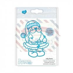 Fustella metallica Tonic Studios Rococo Jolly Santa